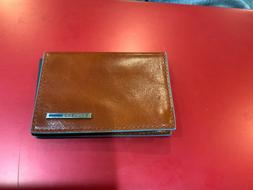Piquadro Credit Card Holder Leather Wallet Photo Business Ca
