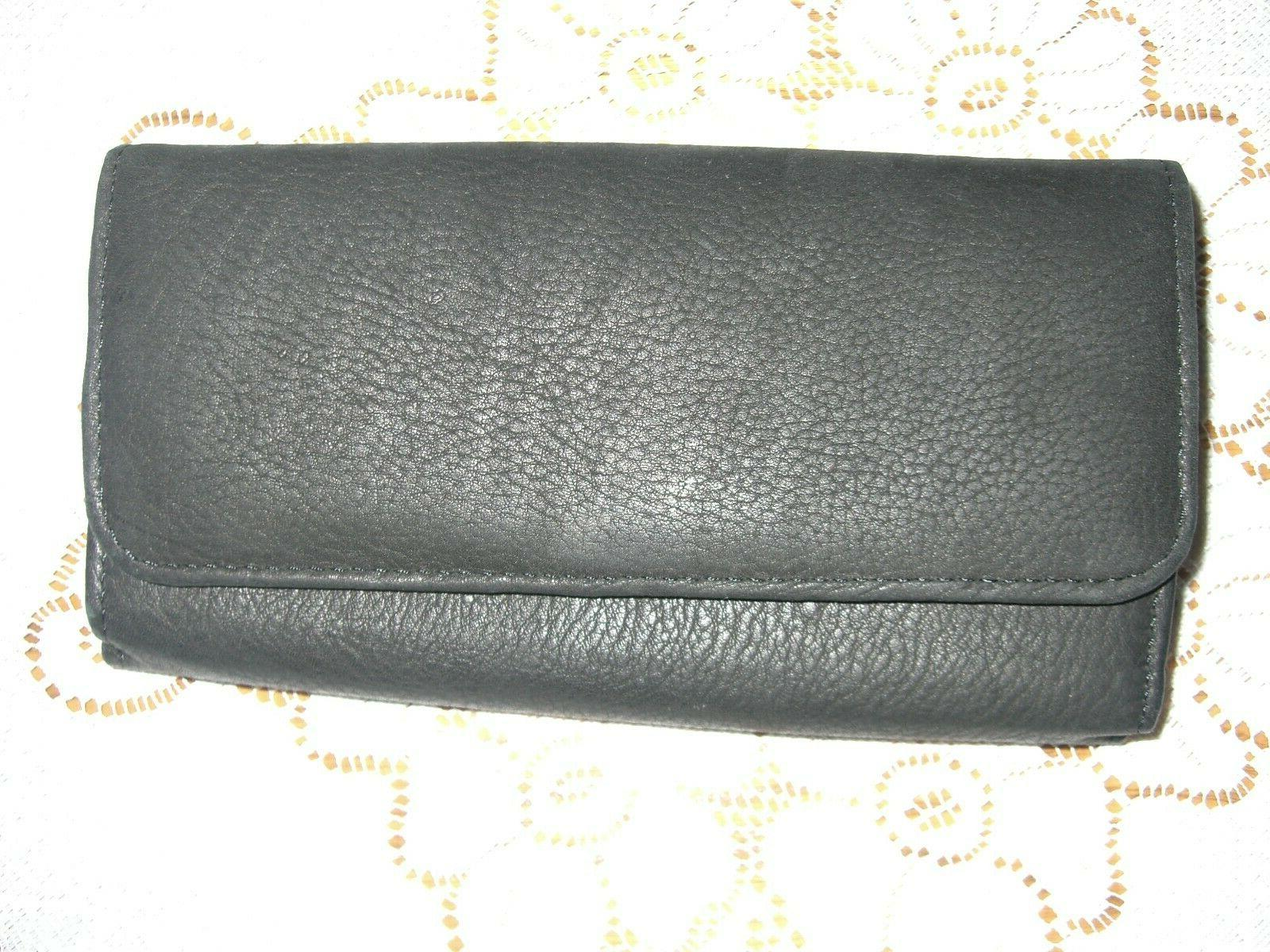 s leather women s wallet snap close