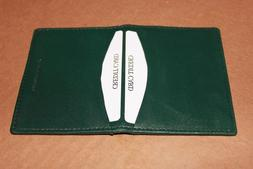 NEW MENS WILSON LEAHTER BIFOLD CREDIT CARD ID CASH HOLDER